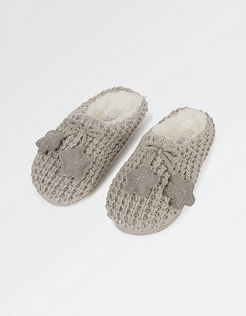Olivia Knitted Mules