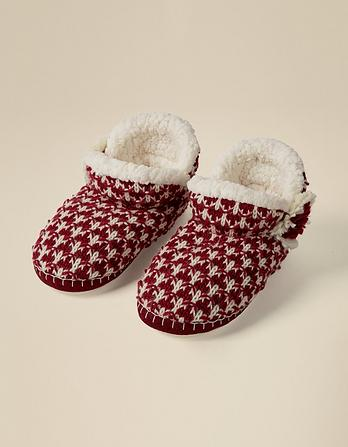 Poppy Short Slipper Boots