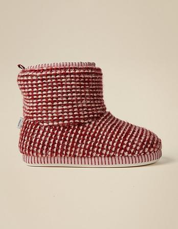 Lucy Knitted Slipper Boots