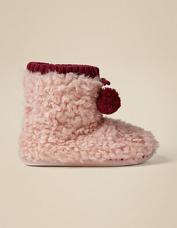Lilly Luxe Slipper Boots