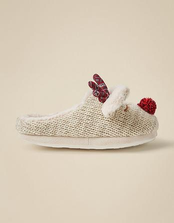 Rosie Reindeer Slippers