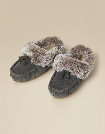 Suzie Suede Slippers
