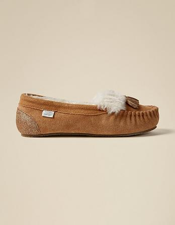 Suzie Suede Loafers