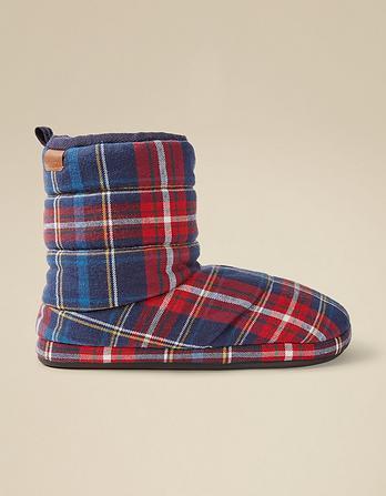 Logan Check Boots