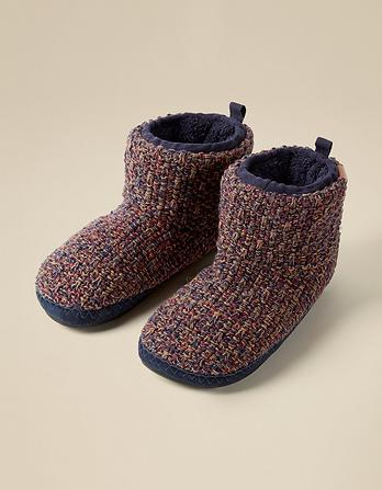 Laurence Low Knit Slipper Boots