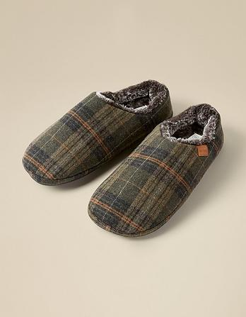Maddox Check Slippers