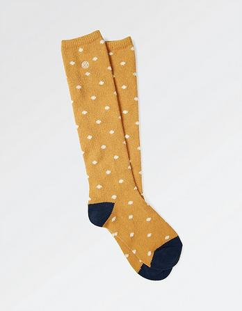 Knee High Spotty Socks