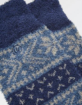 Two Pack Fairisle Mallory Sock