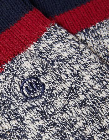 Twist Cotton Boot Socks