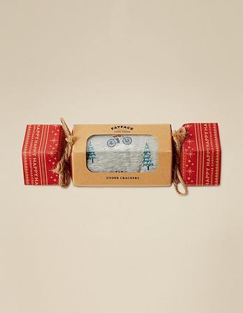 Santa Race Boxers in a Cracker