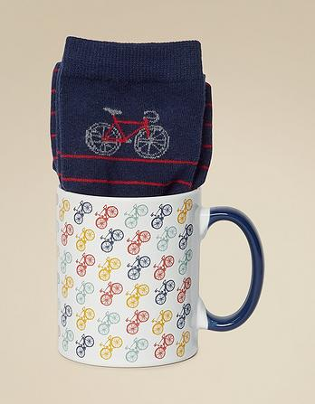 Bike Mug And Socks