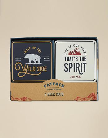 Beer Mats Gift Set