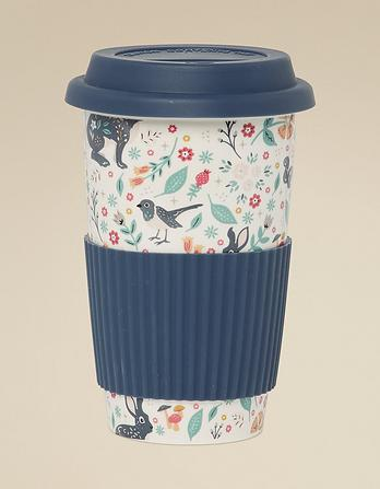 Woodland Floral Travel Mug