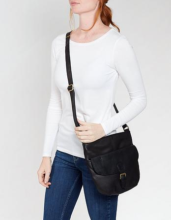 Hetti Leather Cross Body Bag