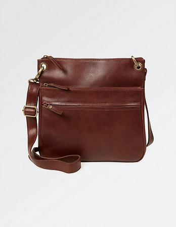 Ada Leather Cross Body Bag