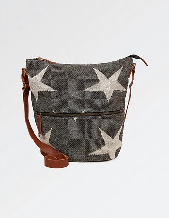 Woven Star Tia Cross Body Bag