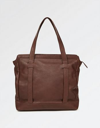 Tabby Small Leather Tote Bag