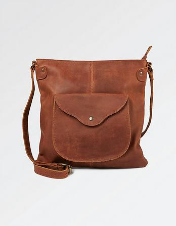 Molly Leather Cross Body Bag