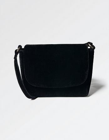 Vanessa Velvet Cross Body Bag