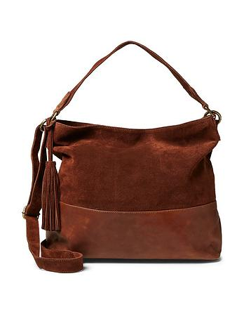 Harriet Leather Hobo Bag
