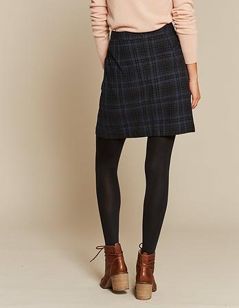 Beth Check Mini Skirt
