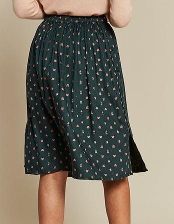Rebecca Opulent Paisley Skirt