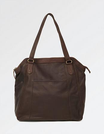 Tilly Leather Large Tote Bag