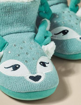 Darcy Deer Slipper Boots
