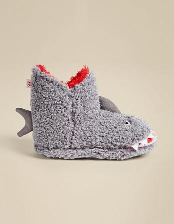 Sidney Shark Slipper Boots
