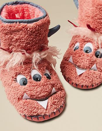 Flora Monster Slipper Boots