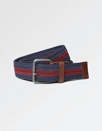 Herringbone Woven Belt