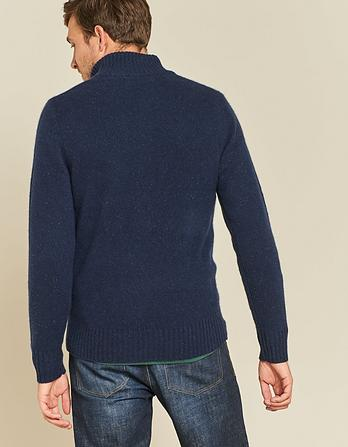 Cashmere Half Neck Sweater
