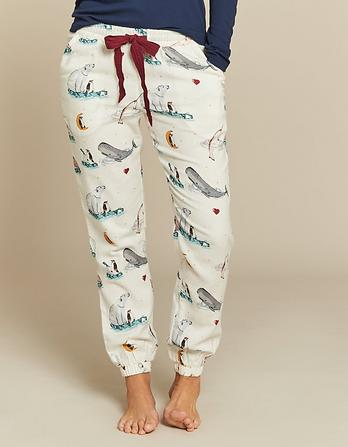 Star Gazing Cuffed Lounge Pants