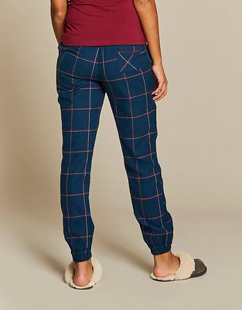 Glenmore Cuffed Check Lounge Pants