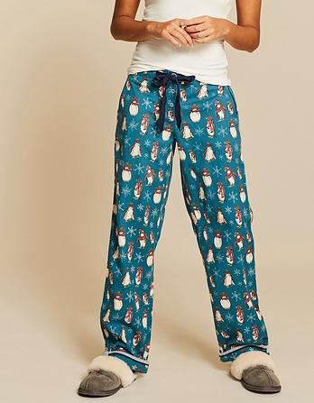 Winter Penguins Classic Lounge Pants