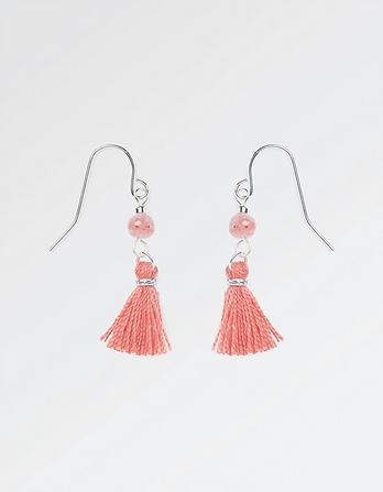 Small Tassel Drop Earring