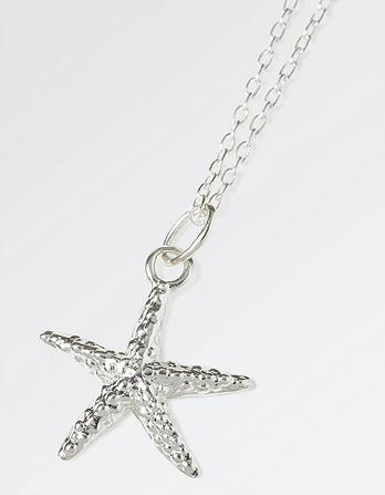 Starfish Short Necklace