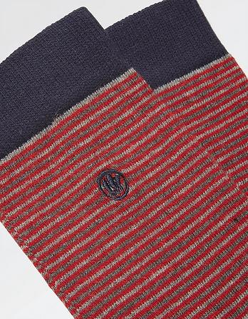 One Pack Leon Stripe Socks