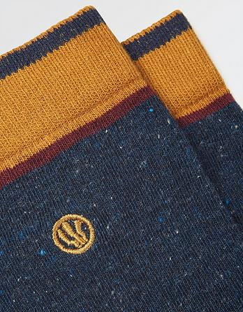 One Pack Plain Socks