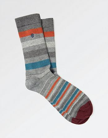 One Pack Clark Stripe Socks