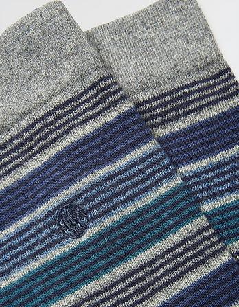 One Pack Liam Stripe Socks