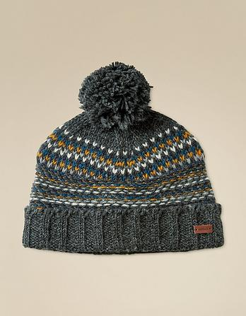 Pattern Knit Beanie