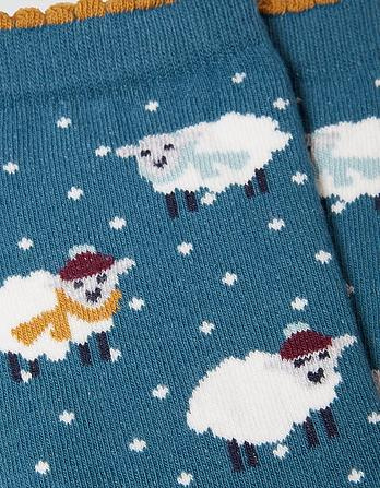 One Pack Winter Sheep Socks
