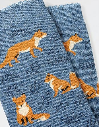 One Pack Fox Socks