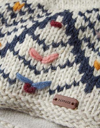 Zig Zag Knit Beanie