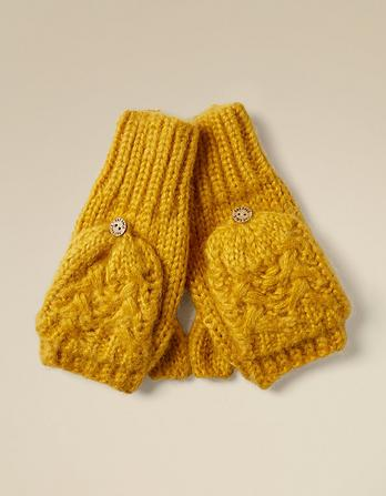 Knit Overflap Mittens