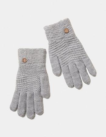 Waffle Knit Gloves