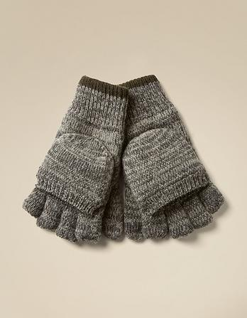 Marl Flap Over Gloves