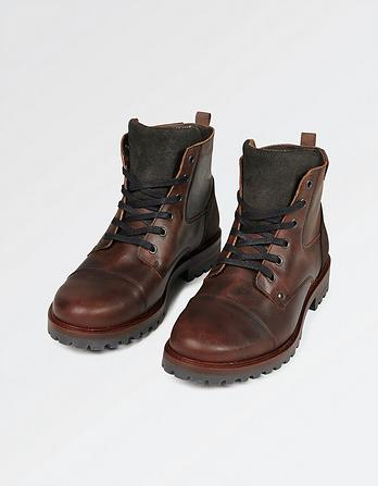 Abbott Lace Up Boot
