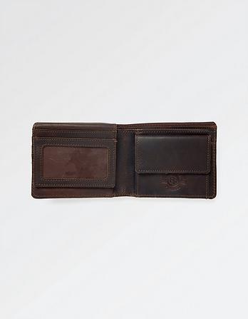 James Leather Border Wallet